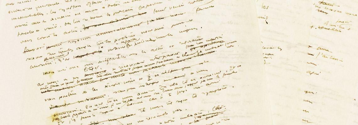 livres manuscrits d'Antoine de Saint-Exupéry